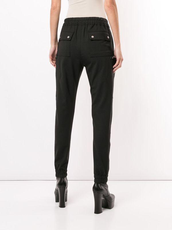 Rick Owens Tacuatl Zipped Bauhaus Cargo Trousers