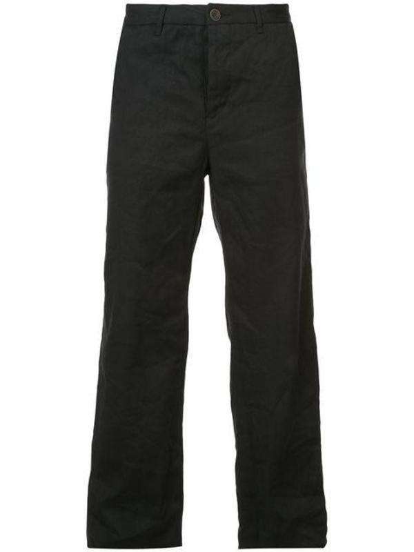 Unisex Woven Cotton Washi Box Pocket Pants