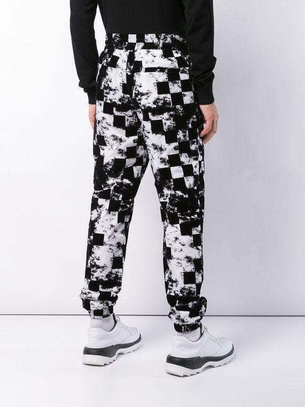 Versus Velvet Print Trousers
