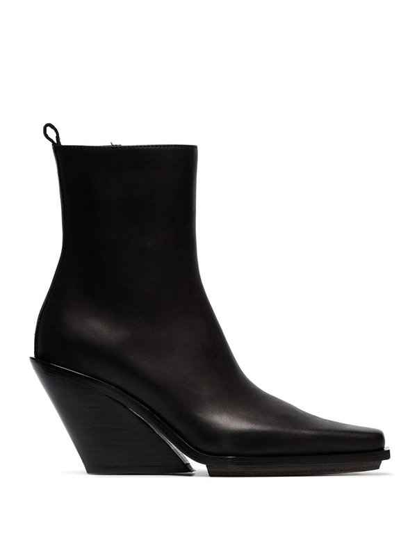 Vitello Wedge Ankle Boots