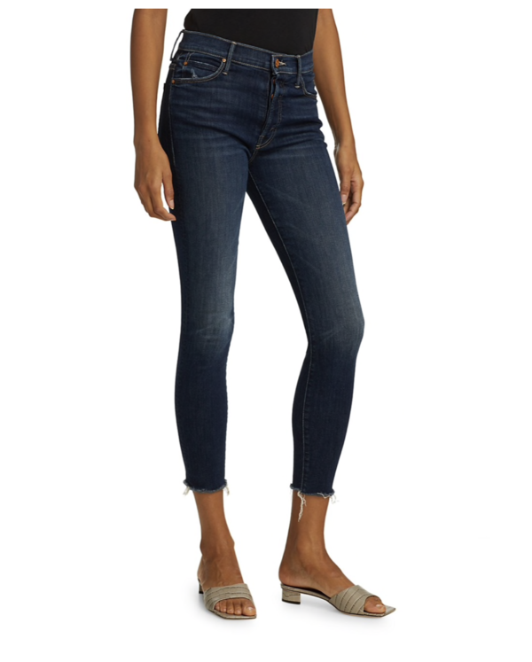 Mother Denim The Stunner Ankle Fray Jeans - Teaming Up
