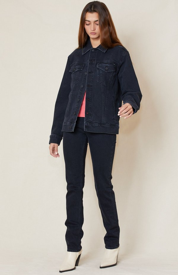 Mother Denim Button Up Drifter Jacket - Who's Sorry Now