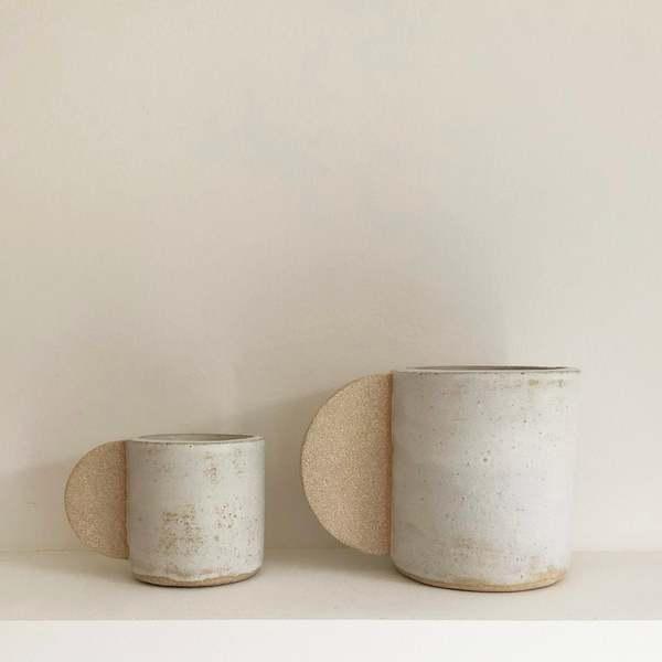 Brutes ceramics Large romantic cup - cream