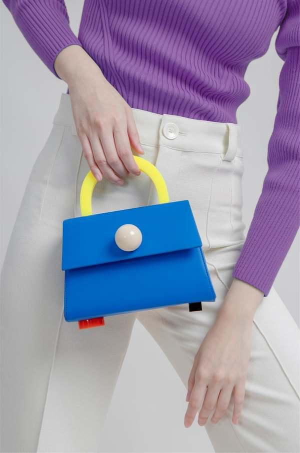 MATTER MATTERS Diva satchel bag - Ultramarine