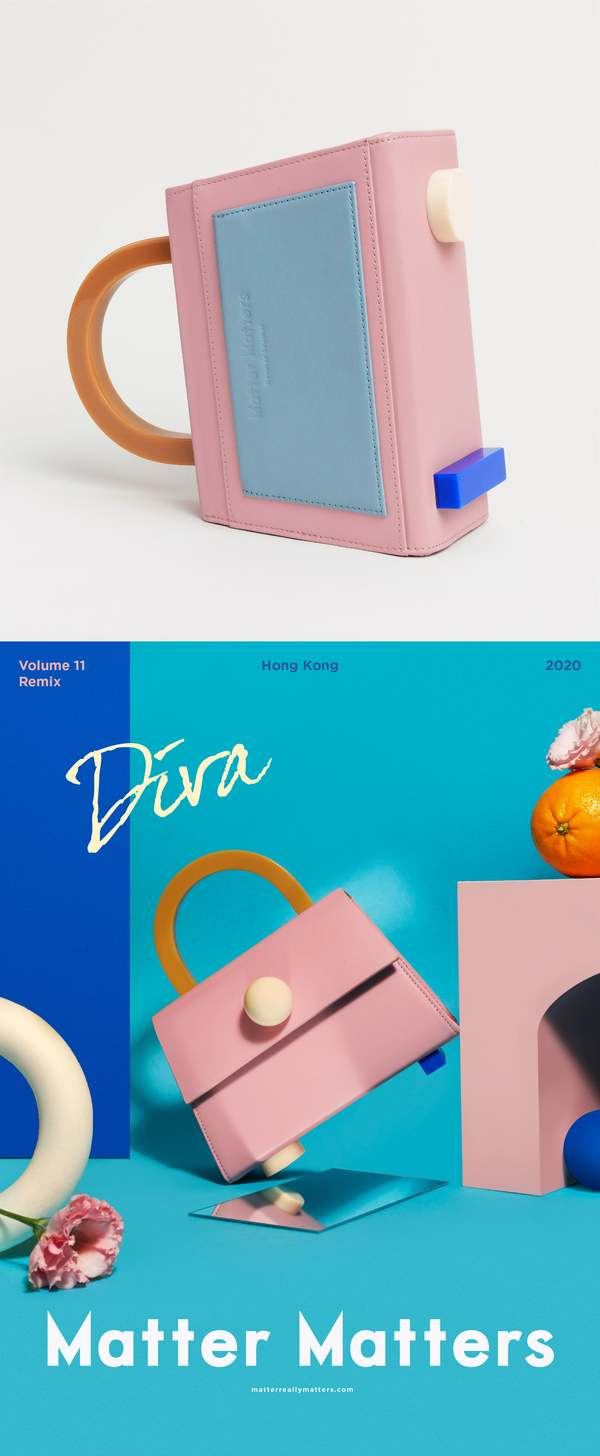 MATTER MATTERS Diva satchel bag - Pink