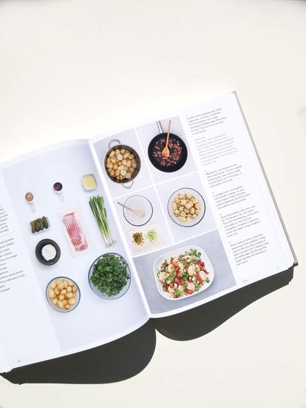 """Phaidon """"Simple & Classic 123 Step-by-Step Recipes"""" by Jane Hornby book"""