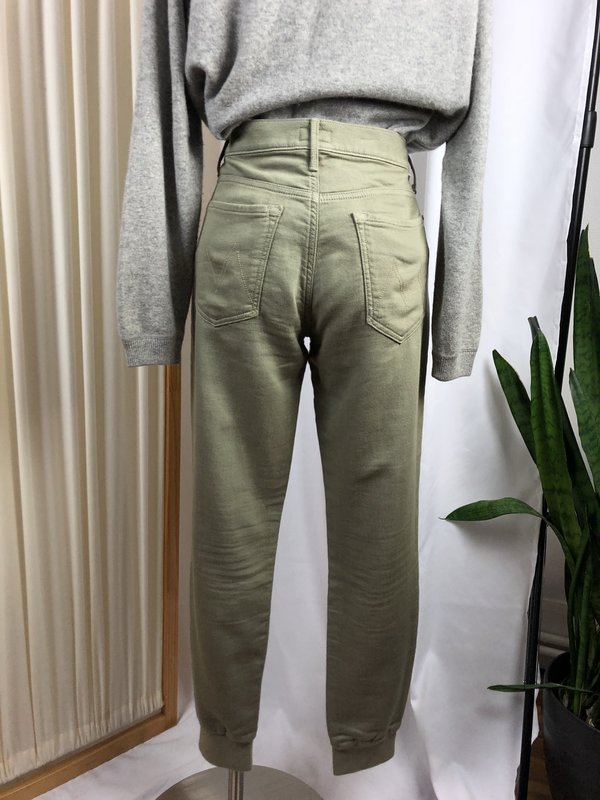[Pre-loved] Mother Denim The Trainer Joggers - Green