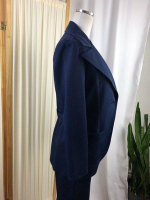 Vintage Navy Pant Suit