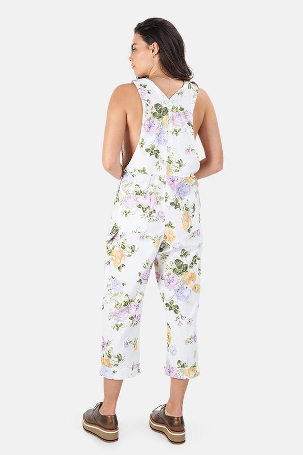 LoveShackFancy Daffy Jumpsuit - Spring Garden