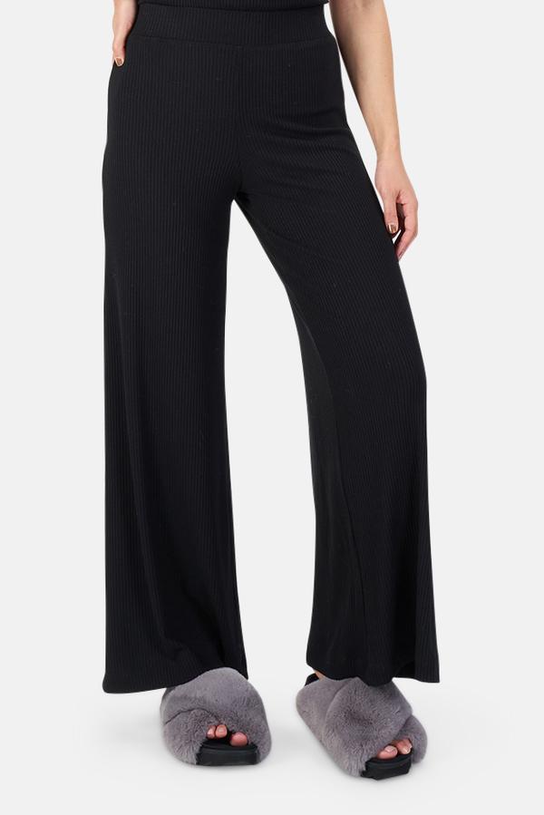 L'Agnece L'Agence Crawford Wide Leg Pants - Black