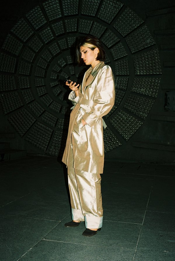 Jovana Markovic Dora Coat - Light Green