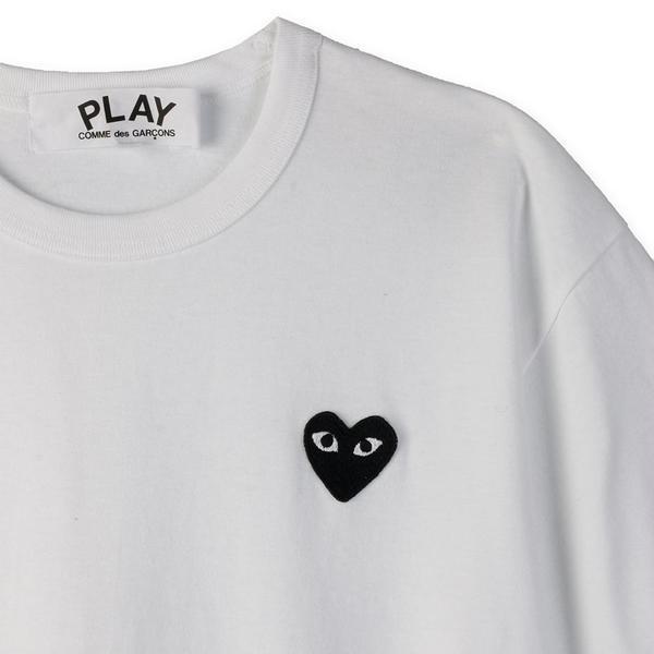 Comme des Garcons Black Heart T-shirt - White