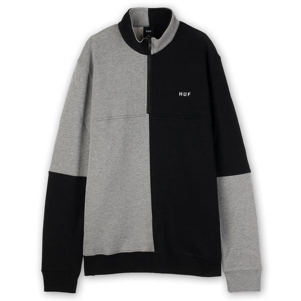 Huf Separator Quarter Zip Fleece - Black