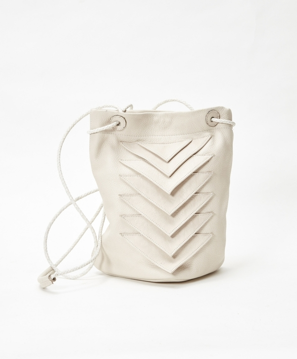 Collina Strada Tryst Bag Stone Leather