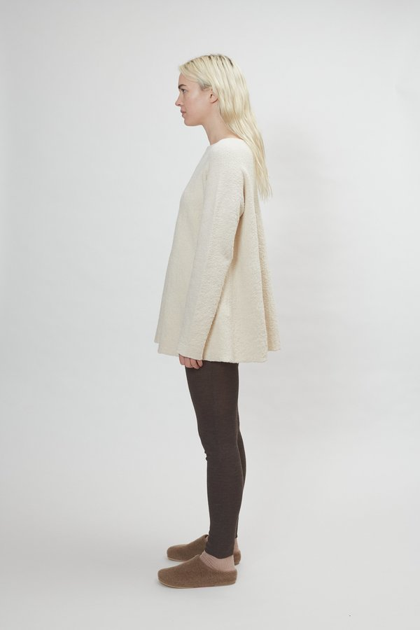 Lauren Manoogian Flare Pullover - Raw White