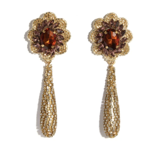 Lizzie Fortunato Boleyn Earrings - Sunrise