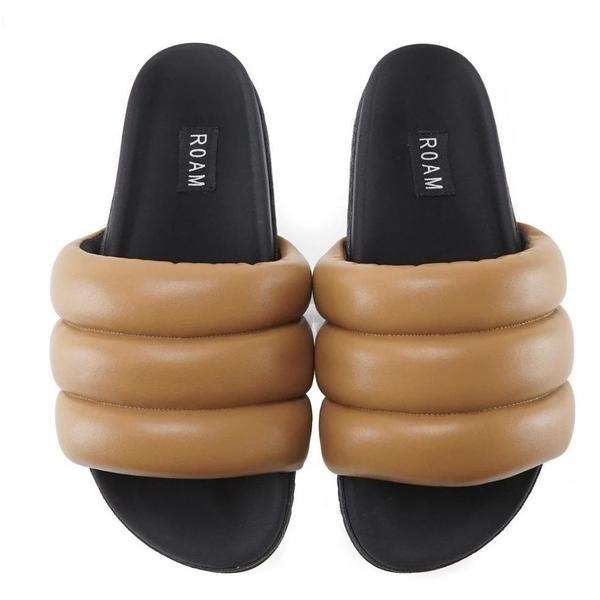 Roamwears Super Puff Sandals - Cognac