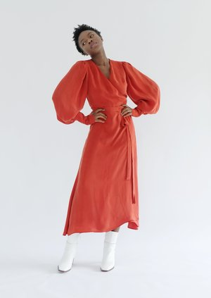 OhSevenDays Ruth dress - red