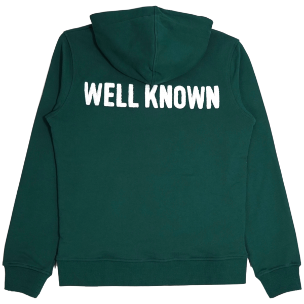 Well Known Studios The Bowery Hoodie - Green