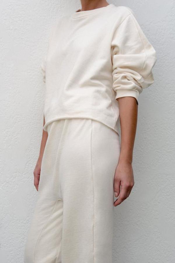 Wol Hide Easy Winter Sweatshirt - Natural