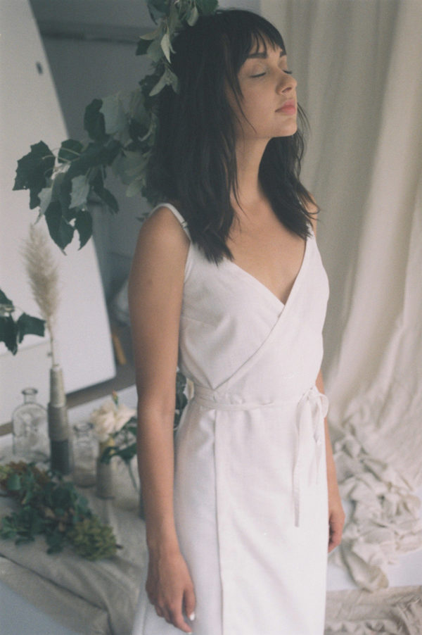 Aniela Parys Carlota dress - white