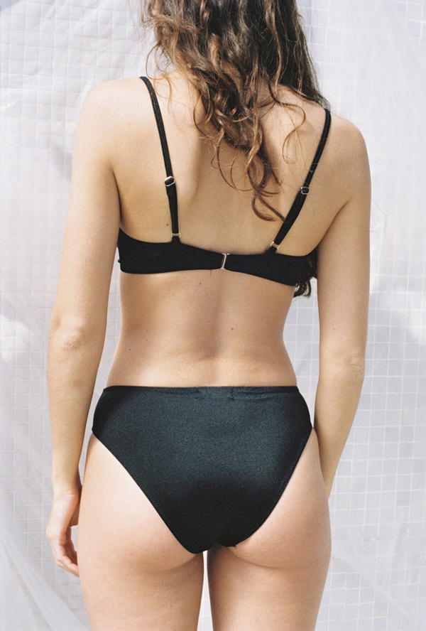 Aniela Parys Asia Basic Bikini Bottoms - black