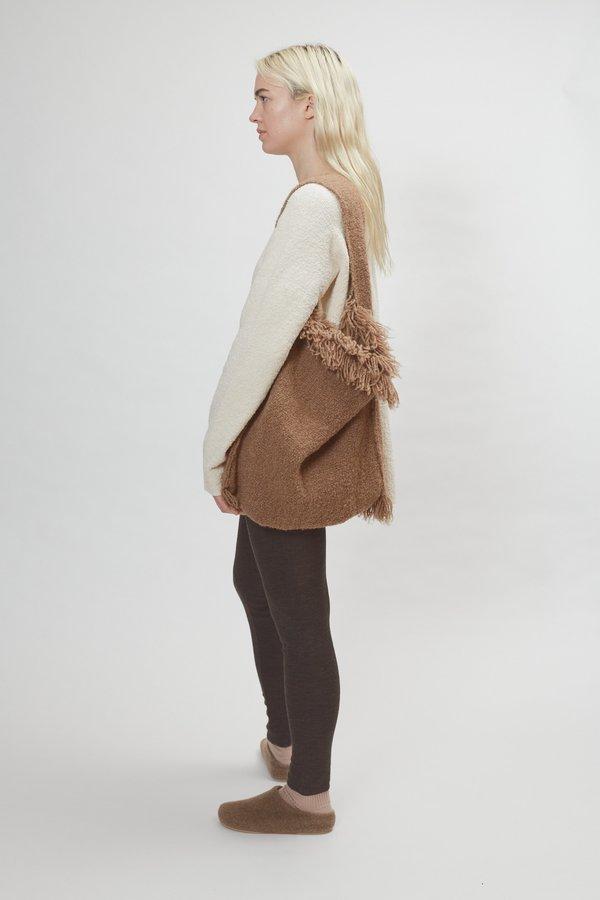 Lauren Manoogian Handwoven Bindle Tote - Cedar