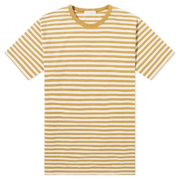 COOLMAX Graphic Tee 'White / Yellow'