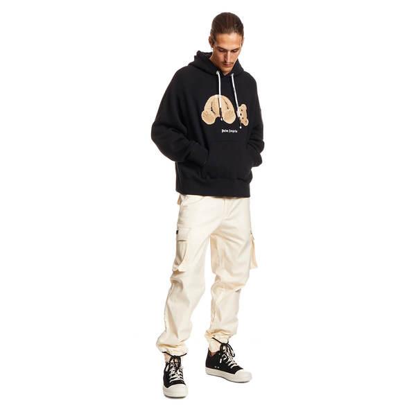 PALM ANGELS Bear hoodie Sweater - Black