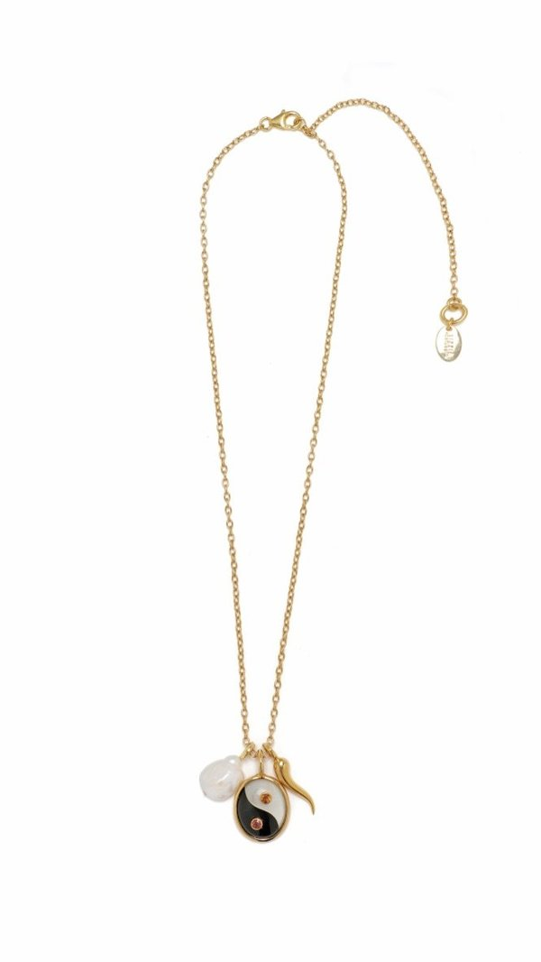 Lizzie Fortunato Yin Yang Oasis Necklace