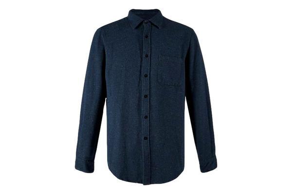 Portuguese Flannel Rude Shirt - Blue