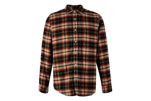 Portuguese Flannel Rustic Shirt - Check