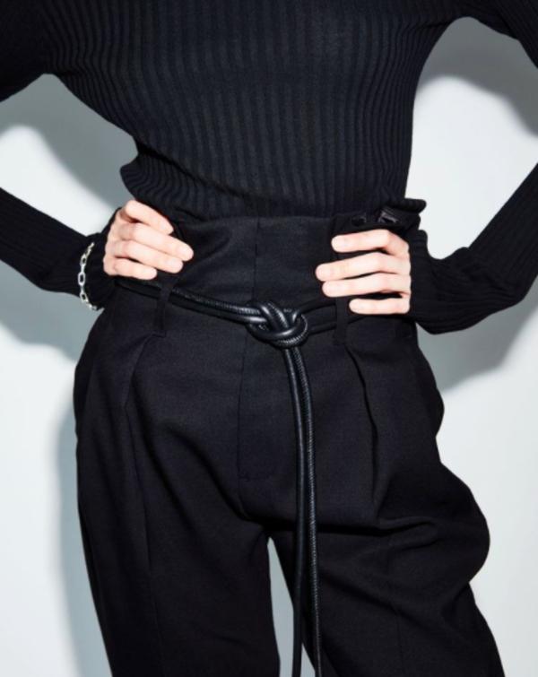 Anine Bing Yves Trouser - Black