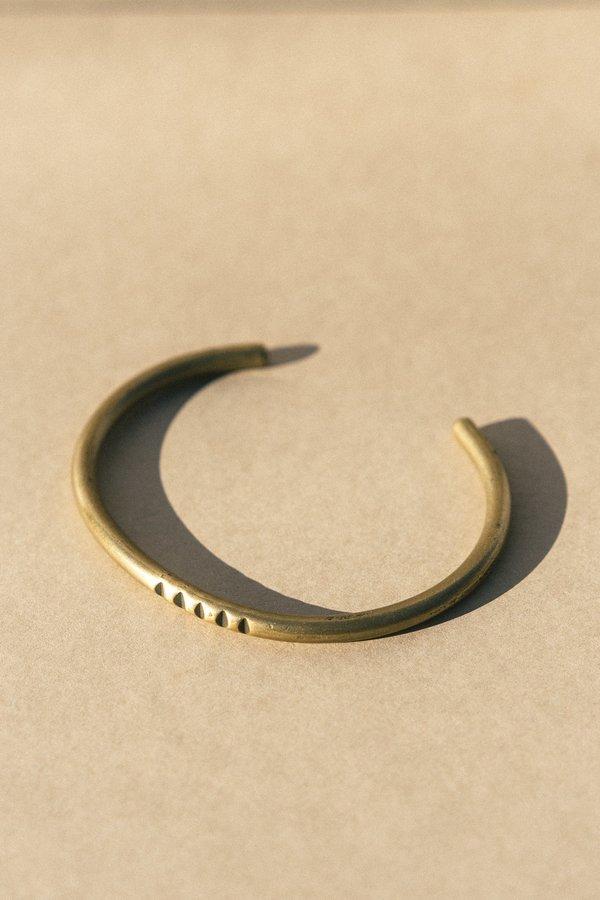 Rivet & Rise Simple Stamped Cuff Bracelet