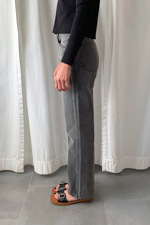 RE/DONE 90s High Rise Loose pants - ash grey