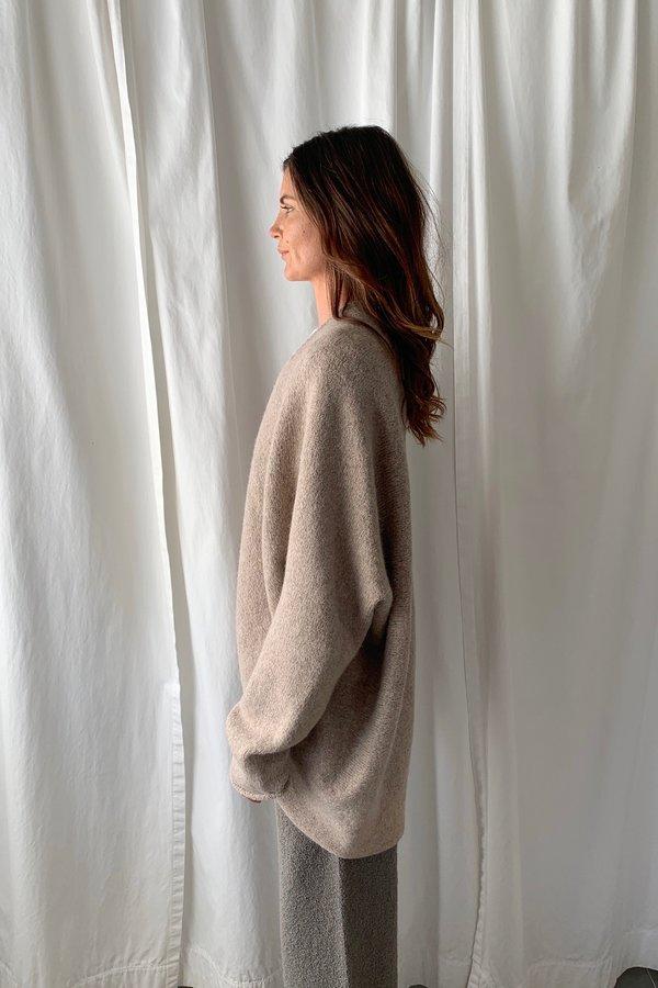 Lauren Manoogian Horizontal Cardigan - Oatmeal