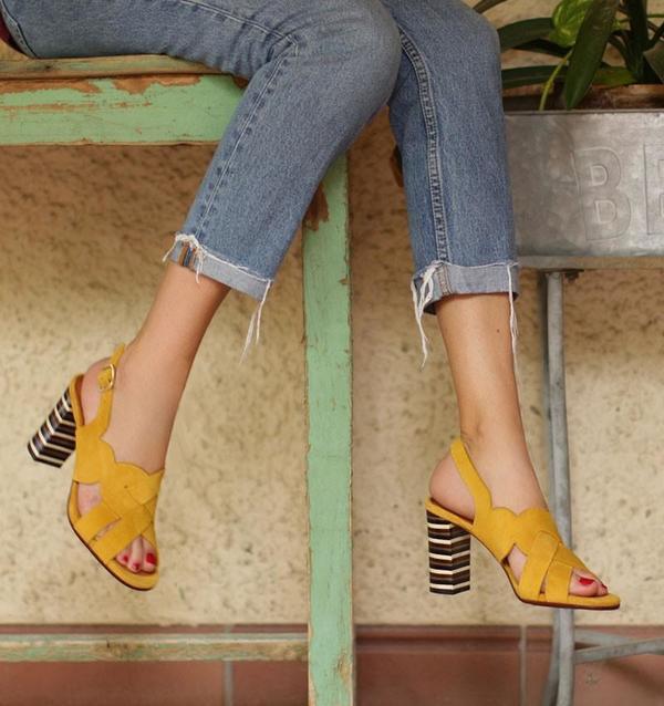 Chie Mihara Balbina Heels - Ocre