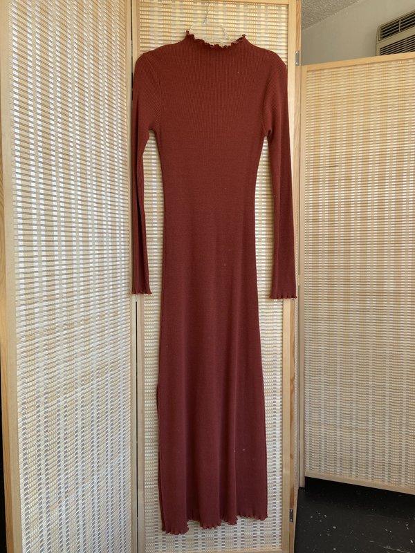 sample eloise dress - size s - saffron rib