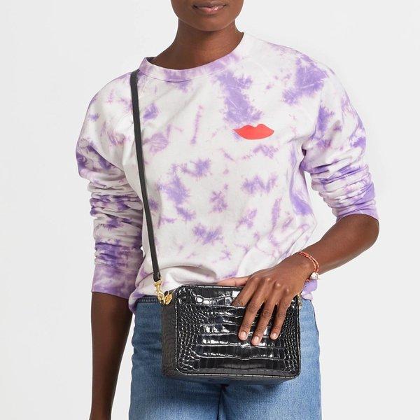 Clare V. Marisol Croco With Pocket