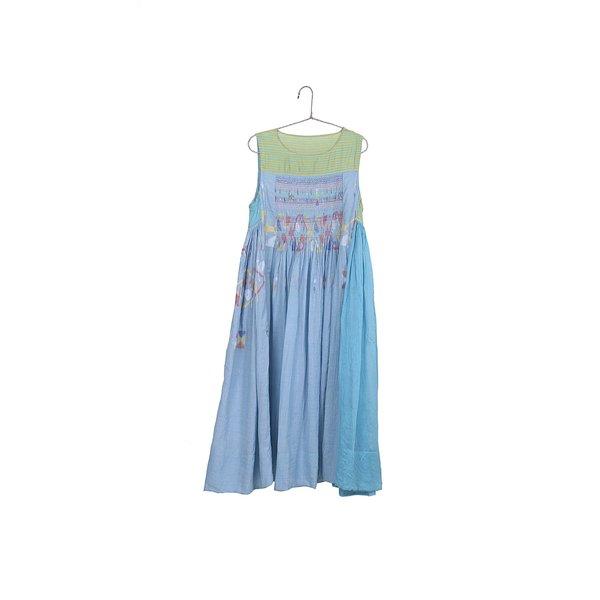 Injiri Sleeveless Embroidered Maxi Dress