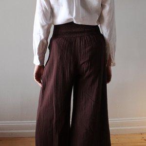 Anaak Kai Wide Leg Pants - Chocolate