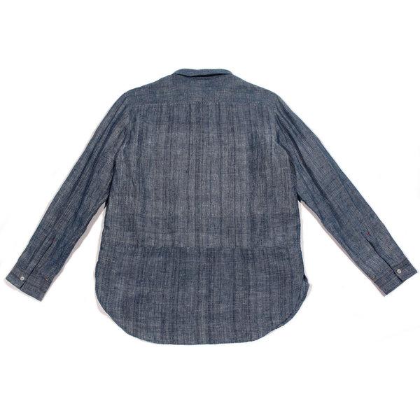 11.11 / Eleven Eleven Rich Shirt - Indigo Chambray
