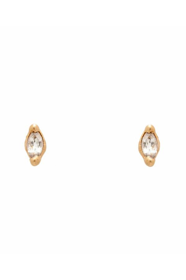 Valley Rose Ara Stud Diamond Earrings