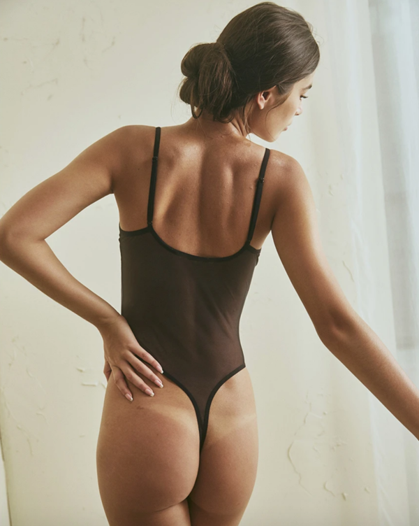 The Great Eros canova bodysuit - black