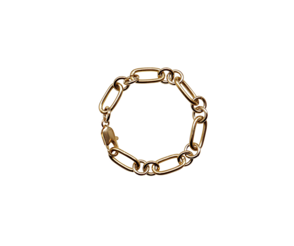 Laura Lombardi rafaella chain anklet - 14kt gold plated brass