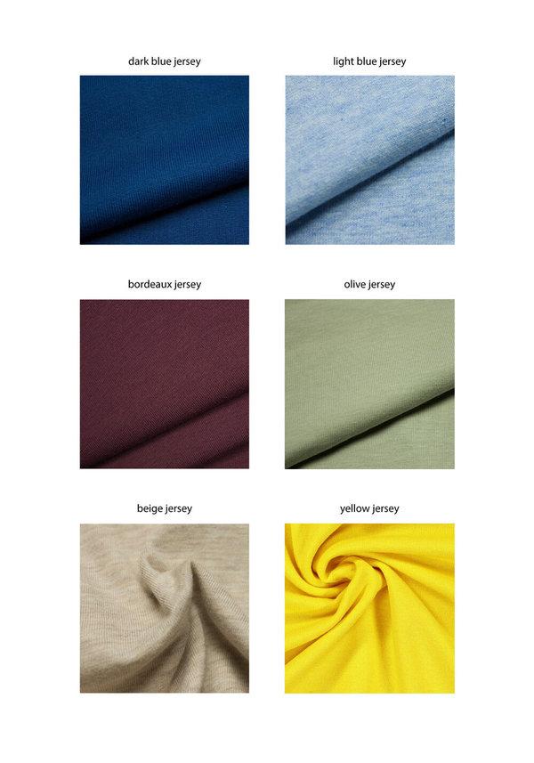 Siz Aletsch Organic Cotton Dress - Light Blue