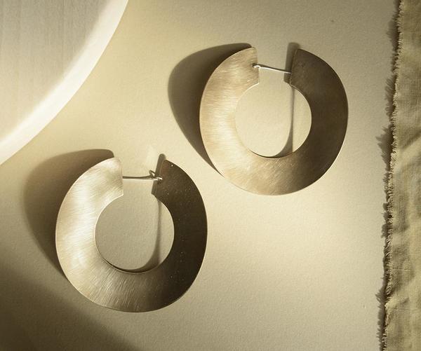 Fripp Rio Earrings - Brass
