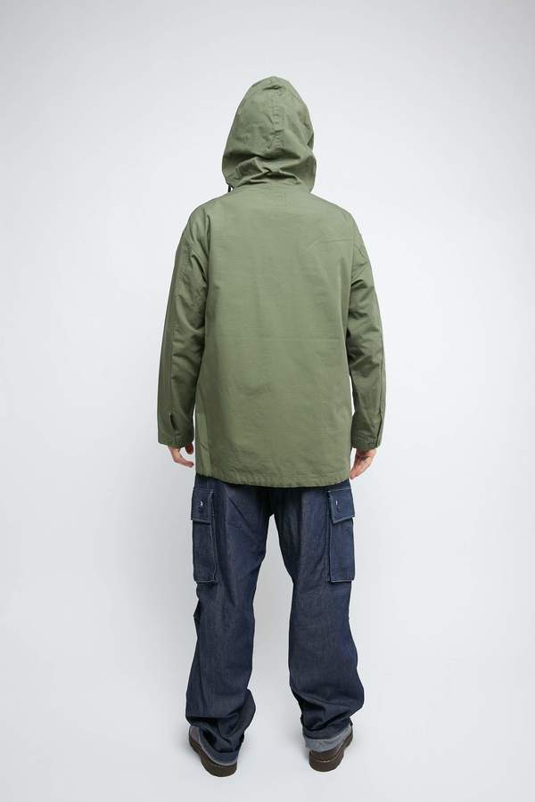Engineered Garments for Totem Brand Co. Cagoule Shirt - Olive