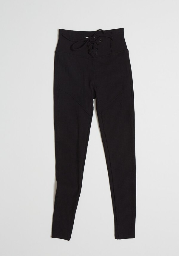 Year of Ours Thermal Hockey Legging - Black