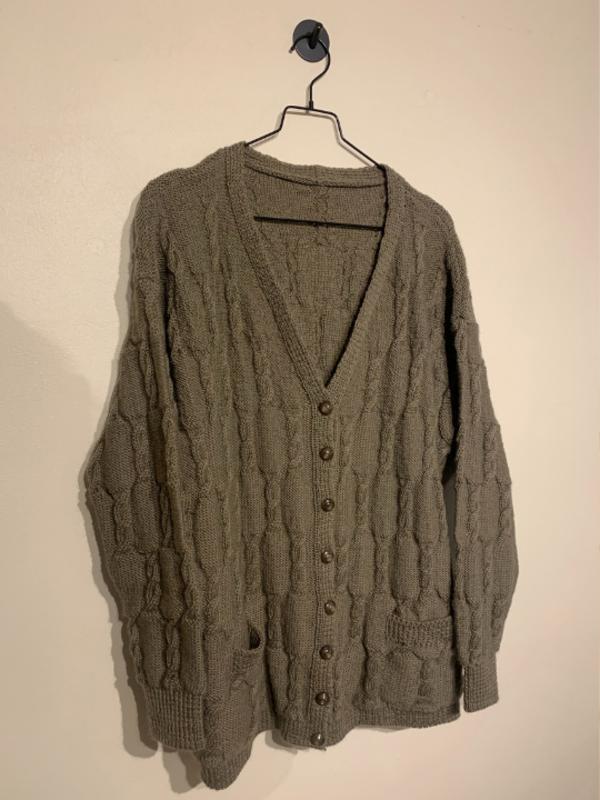 Vintage The Knit Vest - Green